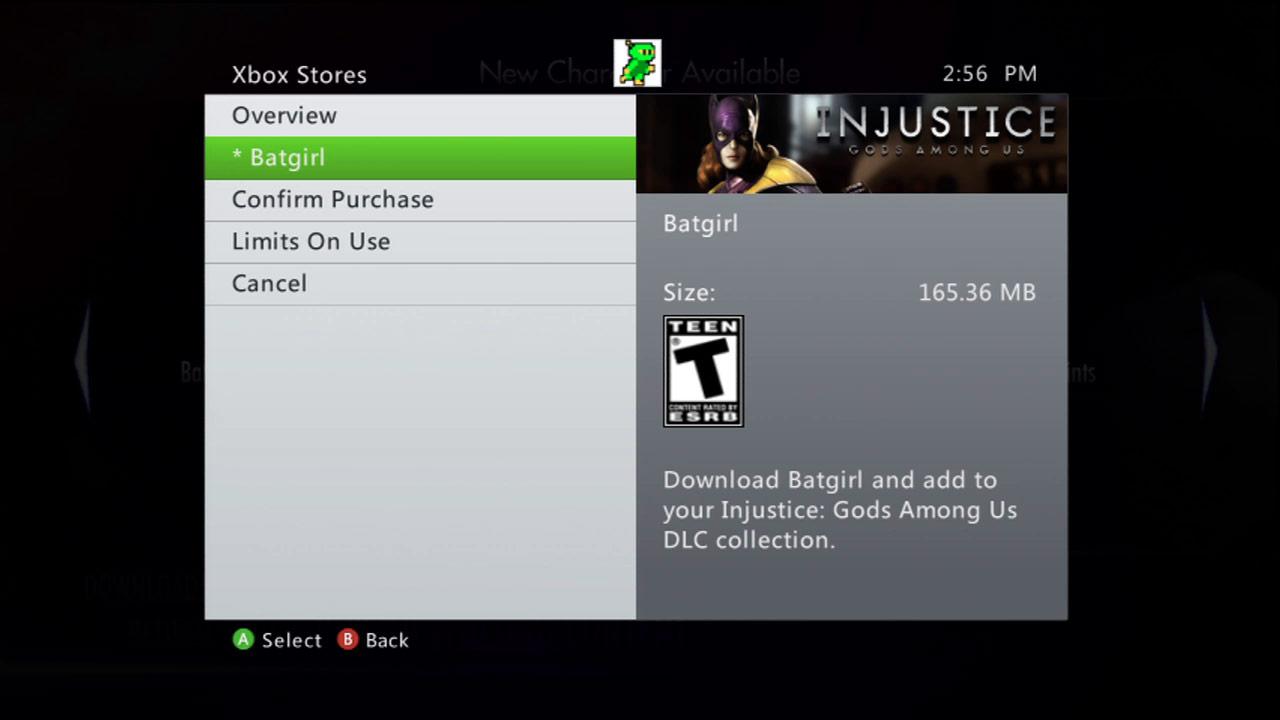 Injustice DLC Batgirl 1