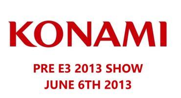 Konami Announces Its Pre-E3 Presentation on June 6