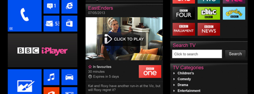 BBC iPlayer Now on Windows Phone 8