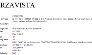 Forza Vista Trademark Suggests New Stats Tool For Next-Gen Title