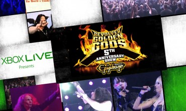 Golden Gods Awards Show Live on Xbox LIVE May 2nd 2013