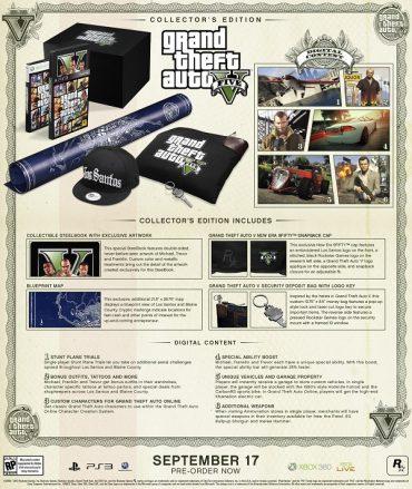 Grand Theft Auto V – Collectors Edition's