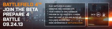 Battlefield 4 BETA Dated September 24 in Leaked Image