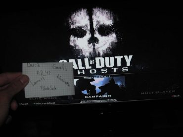 Call of Duty: Ghosts Menu Screen, MP Screenshot Leak?