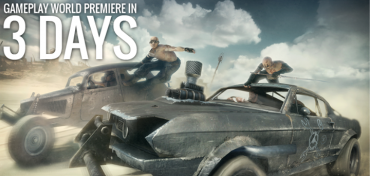 Mad Max Gameplay Premiere in 3 Days Time