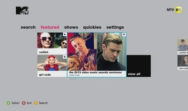 MTV App Hits U.S Xbox LIVE Dashboard