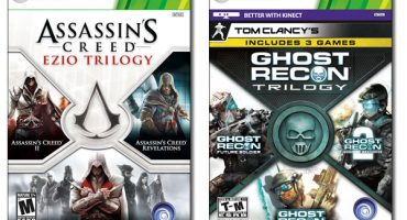 Assassin's Creed Ezio and Ghost Recon Trilogies for Xbox 360