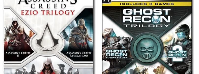 Assassin's Creed Ezio and Ghost Recon Trilogies for Xbox 360