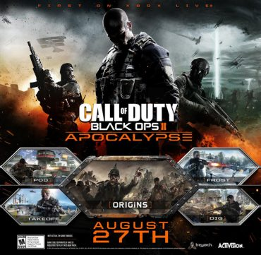 Black Ops 2 DLC Finale – The Apocalypse From August 27