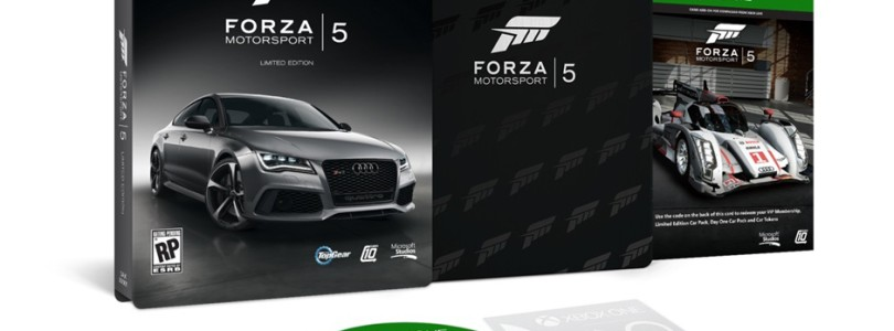 The Super Sexy Forza Motorsport 5 Limited Edition