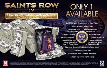 Saints Row IV – The One Million Dollar Super Dangerous Wad Wad Edition