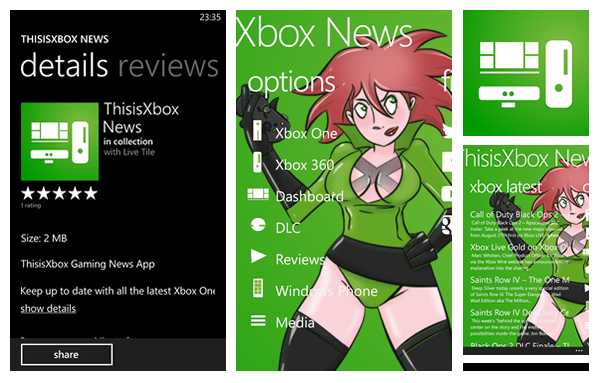 thisisxbox on windows phone