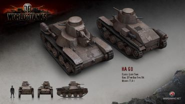 The Japanese entry into World of Tanks