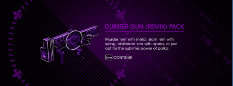 Saints Row IV DLC – Dubstep Gun Remix Pack