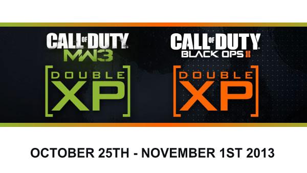 COD DBL XP WEEK
