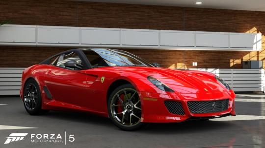 Forza 5 Ferrari 599 GTO