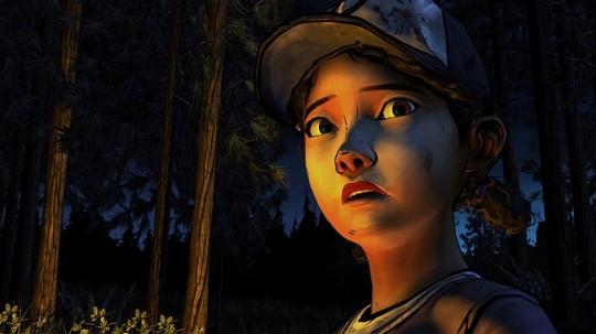 TWD Season 2 Clementine Campfire