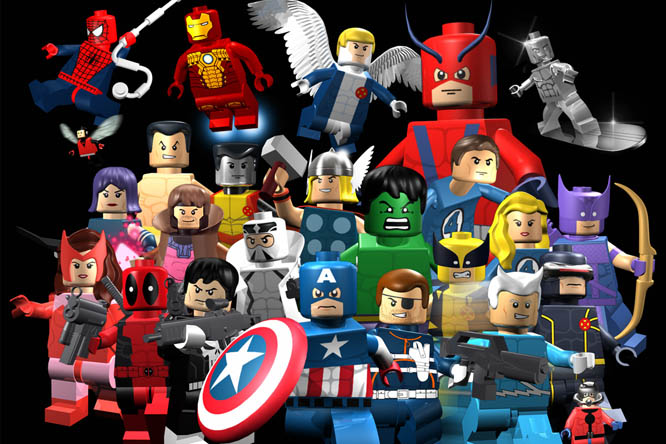 marvel lego games online