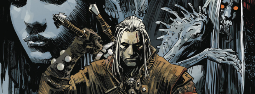 The Witcher Comic Book's From Spring 2014