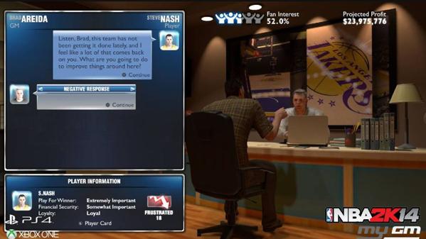 NBA2K14 MYGM MODE