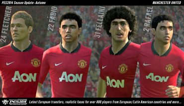 PES 2014 Data Pack Updates Rosters and Likenesses