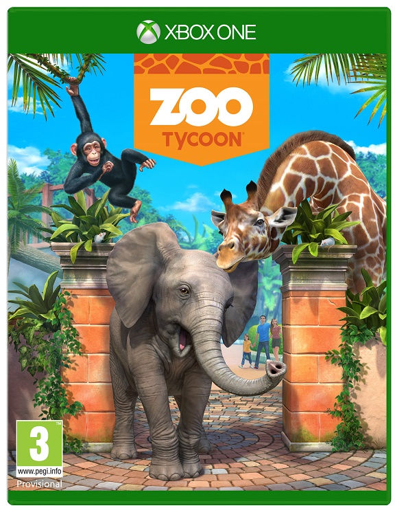 Zoo Tycoon Xbox One Box Shot