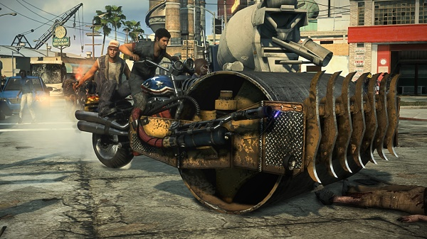 how to set up co op dead rising 3