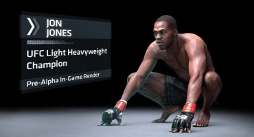 Jon 'Bones' Jones as UFC Cover Star