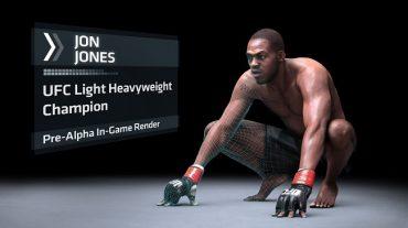 Jon 'Bones' Jones as UFC Cover Star
