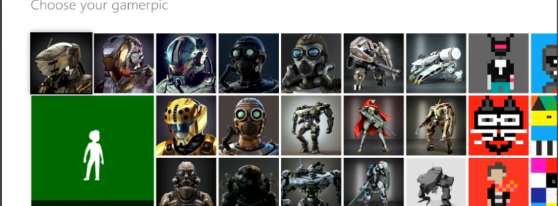 Lets Look at Xbox One's Gamerpic's