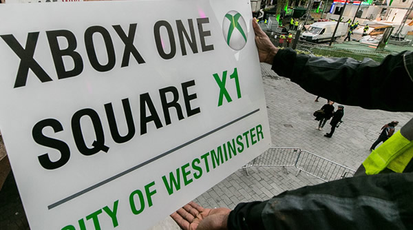 london launch xbox one b