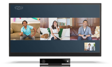 Skype on Xbox One Updated