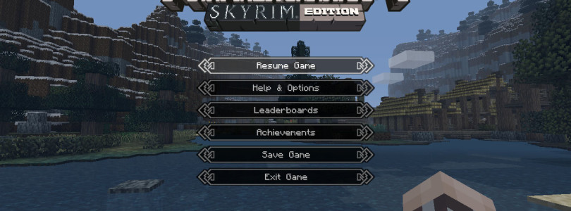 Minecraft: Xbox 360 Edition Skyrim Mash-Up Trailer