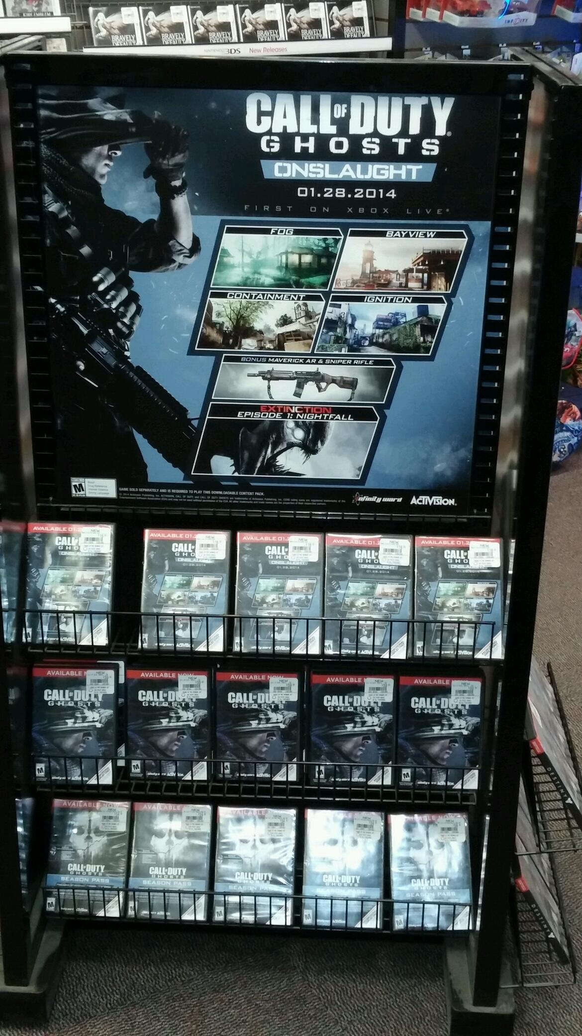 Call Of Duty Ghosts Onslaught Map Pack Contents Leaked This