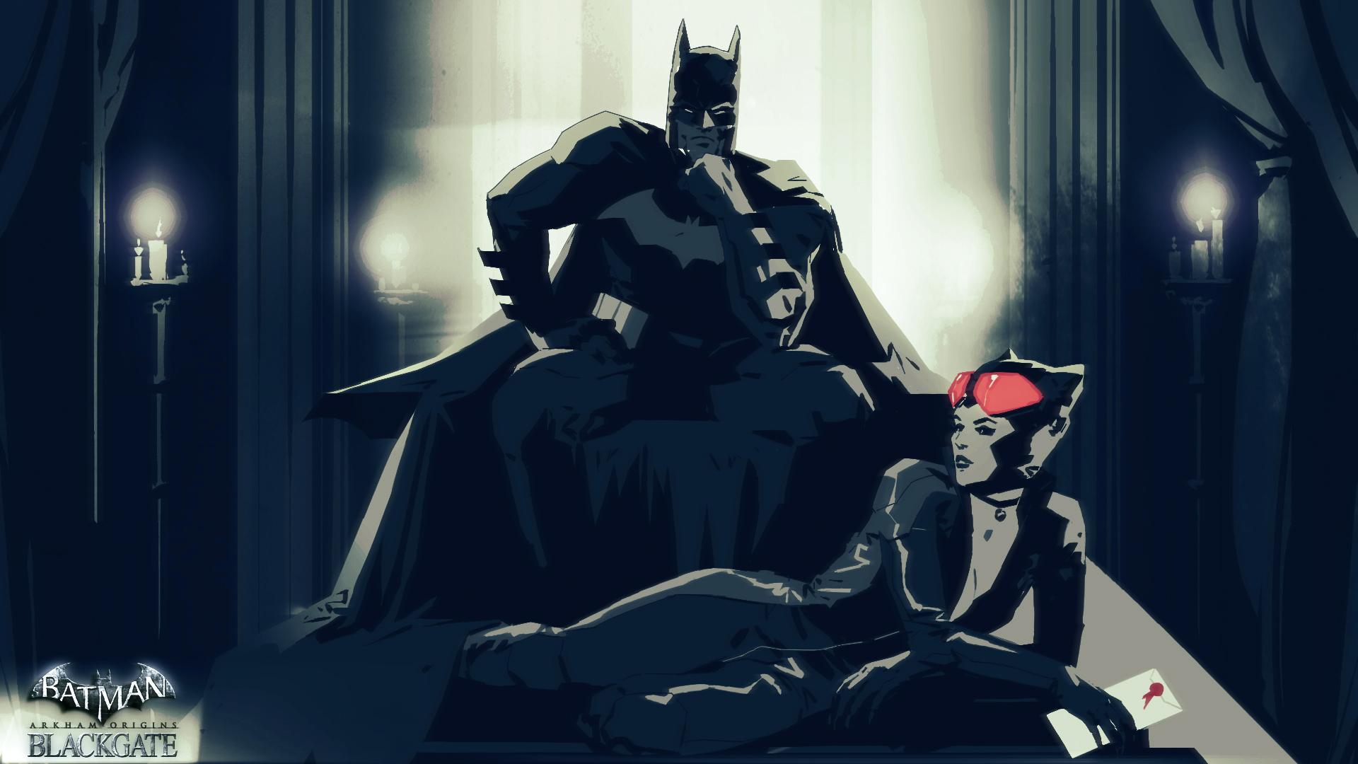 Czeshop Images Batman Catwoman Kiss Wallpaper