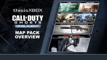 Call of Duty: Ghosts Onslaught DLC Free Trial This Weekend