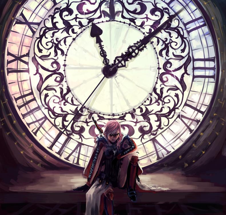 Lightning Returns Clock