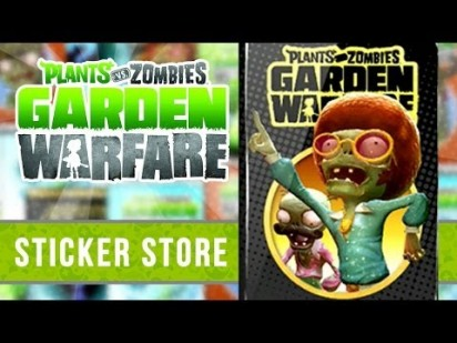 PvZ GF Sticker Shop