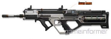 3D Printer Rifle Weapon for Call of Duty: Advanced Warfare