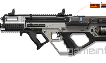 3D Printer Rifle Weapon for Call of Duty: Advanced Warfare