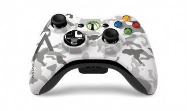 Xbox 360 Special Edition Arctic Camouflage Controller