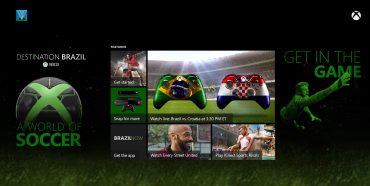 Destination Brazil Hub For Football Fans Soon on Xbox One