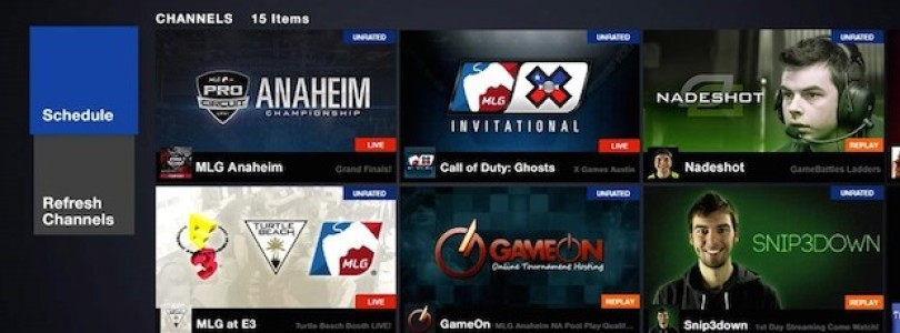 MLG app for Xbox One
