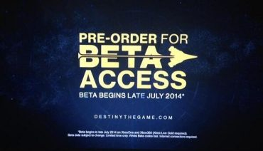 Destiny Beta will Launch Late July for Xbox One and 360