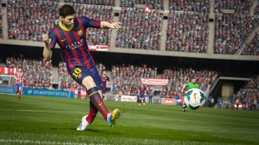 FIFA 15 showcases Man City vs Liverpool match