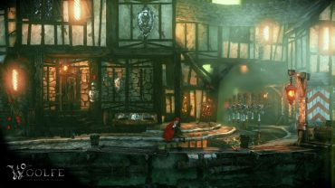 The origins of Woolfe: The Red Hood Diaries