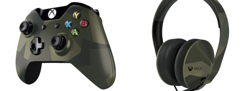 Xbox One – Special Edition Armed Forces Controller and Headset