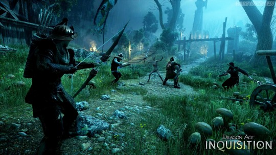 Dragon Age Inquisition Swamp Gamescom 2014