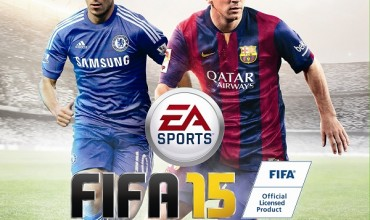 Eden Hazard on the cover of FIFA 15