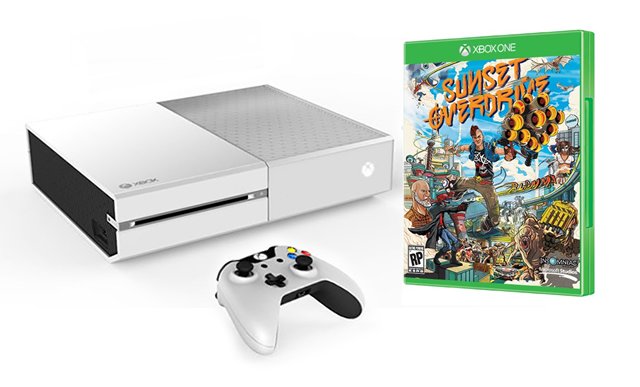 white xboxone sunset overdrive